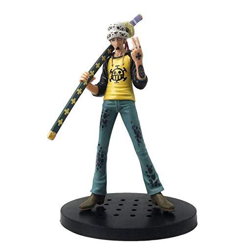 Anime Skulptur Anime Modelo Figura One Piece Trafalgar Ley Death Cirujano en caja.Alto 20 cm