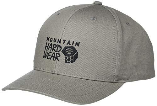Mountain Hardwear Standard MHW Logo 6 Panel Hat, Manta Grey, One Size