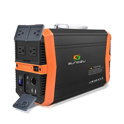 SUNGZU Portable Power Station New 500w Power Supply, Generator for Outdoors Camping CPAP Power Outages Emergency (SKA501)