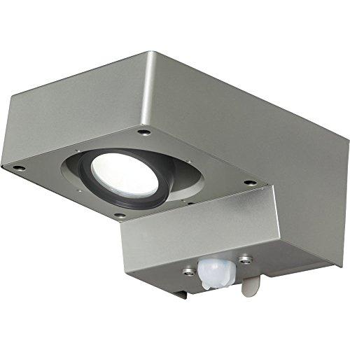 アイリスオーヤマ 屋外センサーライト スポット灯 白色 BOS-SN1-WS