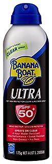 Banana Boat Ultra Clear Sunscreen Spray SPF50+, 175g (B077K4CG6Q) | Amazon price tracker / tracking, Amazon price history charts, Amazon price watches, Amazon price drop alerts