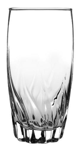 Anchor Hocking Central Park Drinking Glasses, 16 oz (Set of 4) -