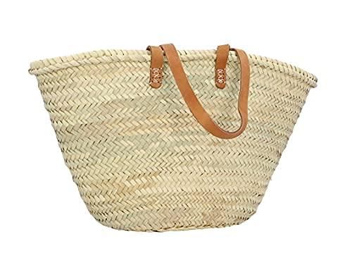 Gusti borsa mare in paglia e pelle - Ella borsa donna borsa mare donna borsa spiaggia borsa paglia borsa mare grande borsa mare donna grande