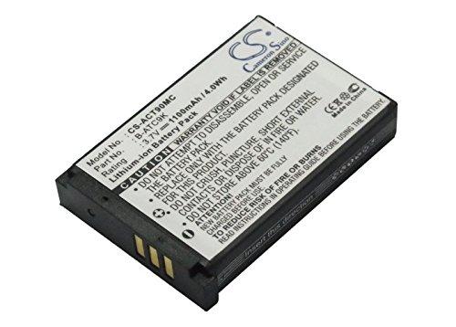 CS-ACT90MC Batteria 1100mAh compatibile con [OREGON SCIENTIFIC] ATC9k, ATC9k Action Camera sostituisce B-ATC9K, per B-ATC9K-JWP