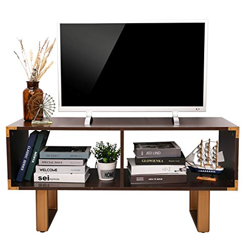 X-cosrack Television Stands, Universal TV Cabinet Entertainment Center for Flat Screen TV, Storage Shelves in Living Room, Office, Gaming Consoles