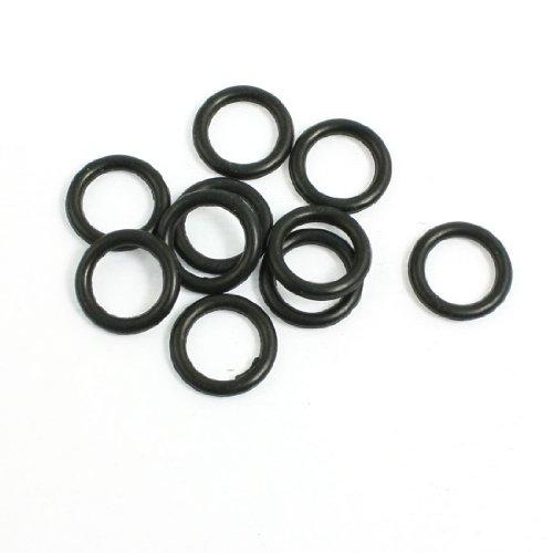 10PCS 12mm x 2mm Mechanische Gummi O Ring Oil Seal Dichtungen de