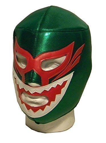 Shark vert adulte wrestler WWE Masque luchador lucha libre