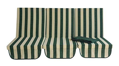 Repuesto completo de capota para balancín de 4 plazas (CM170) de algodón desenfundable