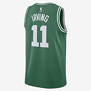 Irving Men's Green Celtics Swingman Jersey Shirt 17/18 Size S