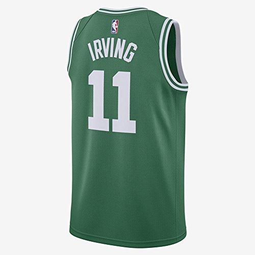Camiseta de Irving del equipo de baloncesto Celtics, tipo Swingman, color verde, talla 17/18, para hombre, Hombre, verde, Large