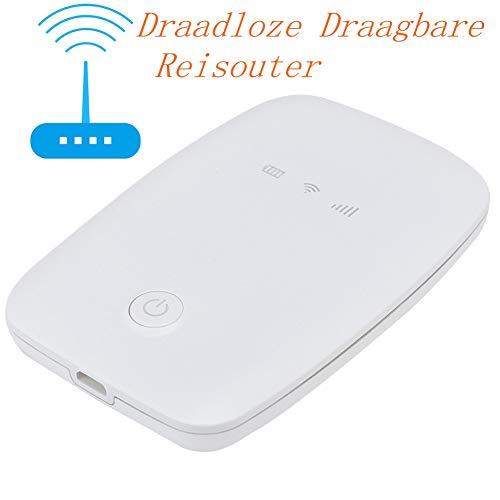 Draadloze Draagbare Reisouter met 150 Mbit/s Hoge Snelheid, Compatibel met een Groot Aantal Wifi-terminals Zoals Tablets, Notebooks en Kleine Mobiele Telefoons