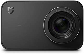 Xiaomi Mi Action Camera 4K - Cámara Deportiva (graba 4K a 30 fps, Gran Angular de 145°, estabilizador electrónico de 6 Ejes, Pantalla táctil de 2,4