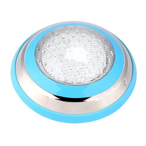 CUTULAMO Luce Subacquea a LED per Piscina, luci per Piscina Impermeabile Durevole 360LED 35W con Telecomando per laghetto per Esterni