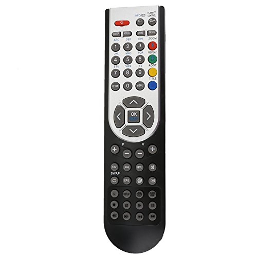 domybest RC1900 – Mando a distancia para OKI 32 TV Hitachi TV Alba Luxor Basic Vestel TV