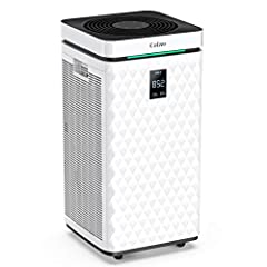 ❃【Greater Purification Range】 The machine adopts double air inlet design, the air intake is larger, the purification range is larger, and the purification efficiency is higher, CADR has a rated value of 470CFM, 800 m³ / h, allowing you to enjoy fresh...