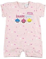 Cerdá - Pelele Bebe Niña Baby Shark con Licencia Oficial Nickelodeon