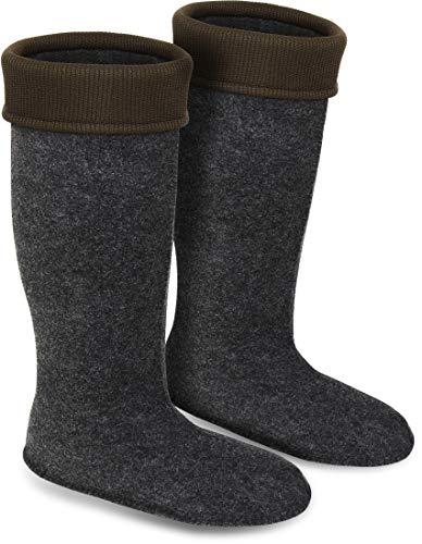 Storfisk fishing & more Thermo Stiefeleinsätze Einziehsocken für Gummistiefel in 8 Größen 41 bis 48, Schuhe/Stiefel - Größe:44/10
