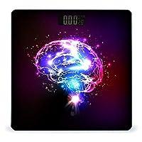脳 LCDディスプレイ付き高精度スマートフィットネススケール体重デジタルバスルームボディスケール