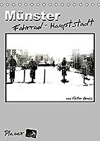 Muenster Fahrrad-Hauptstadt / Planer (Tischkalender 2022 DIN A5 hoch): Streetfotografie mit ungewoehnlichen Perspektiven von den allzeit praesenten Radfahrern Muensters. (Planer, 14 Seiten )