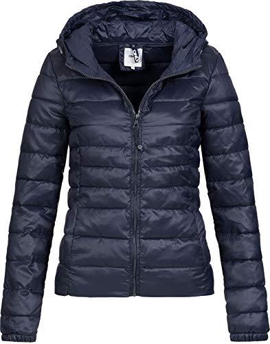 Only Onltahoe Hood Jacket Otw Noos Chaqueta, Azul (Night Sky Night Sky), X-Small para Mujer