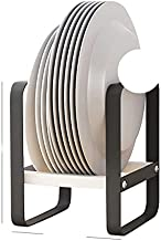 Étagères d'armoires de cuisine plateaux d'épaississement antidérapants bols support de rangement de vaisselle support de c...