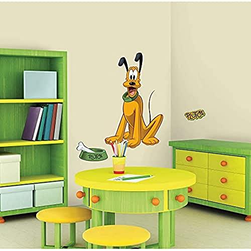Sticker Géant Repositionnable Mickey et ses Amis Pluto