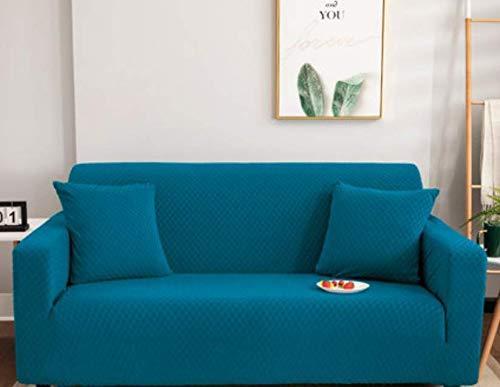 RKZM All-inclusive slaapbank van stretch voor drie personen met universele overtrek sofakussen met universele overtrek sofa-overtrek van stof handdoek 3-zits 190-230 cm