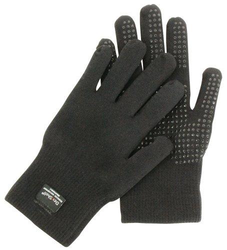 Dexshell Touchfit Gants Matiere impermeable et respirante Noir Large (size 9)