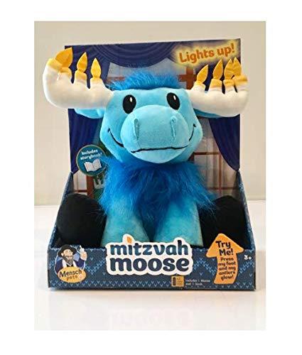 Mensch on a Bench Mitzvah Moose