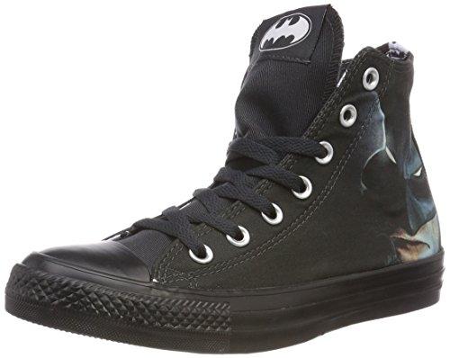 Converse Unisex-Erwachsene CTAS HI Hohe Sneaker, Schwarz (Black/White/Black 001), 36.5 EU