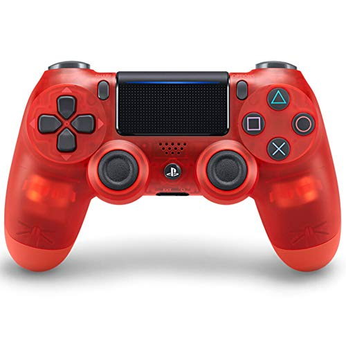 SDSAD Wireless Controller für PlayStation 4 L Kristall Rot