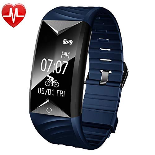 Willful Fitness Tracker,Fitness Watch Waterproof Heart Rate Monitor Activity Tracker Pedometer Watch with Step Counter,Calories,Sleep Monitor,Alarm Clock,Call SMS SNS Notice for Men Women Kids