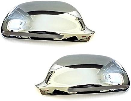 Akhan CSK211-1 Chrome mirror cover mirror caps for mirrors.