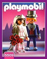 Playmobil - Novios - Novios Serie Rosa