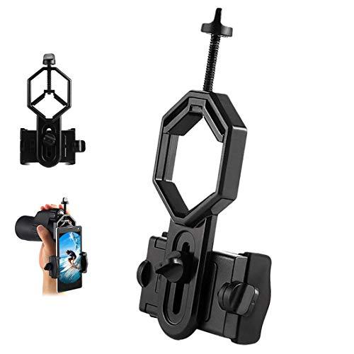 MELARQT Universal Telefon Adapter, Teleskop Adapter Halterung, Smartphone Halterung Adapter, Universal Handy Adapter für iPhone Sony Samsung, für Teleskop, Spektiv, Monokular, Fernglas, Mikroskop
