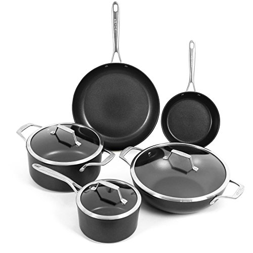 TECHEF - Onyx Collection Nonstick Cookware Set (8-Piece Set)