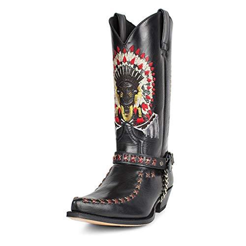 Sendra Boots - 17015 Cuervo Flora Negro 42