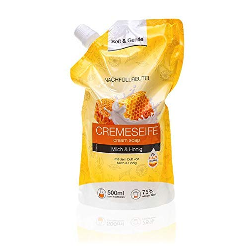 S&G Cremeseife NF Milch&Honig 500ml