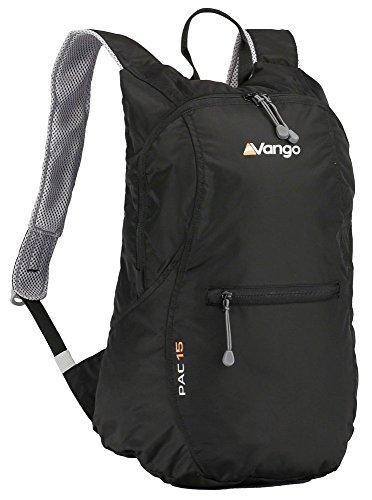 Vango RUHPAC B05015 - Mochila (15 L), Color Negro