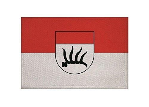 U24 Aufnäher Göppingen Fahne Flagge Aufbügler Patch 9 x 6 cm