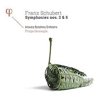 Schubert: Symphonies Nos. 2 & 5