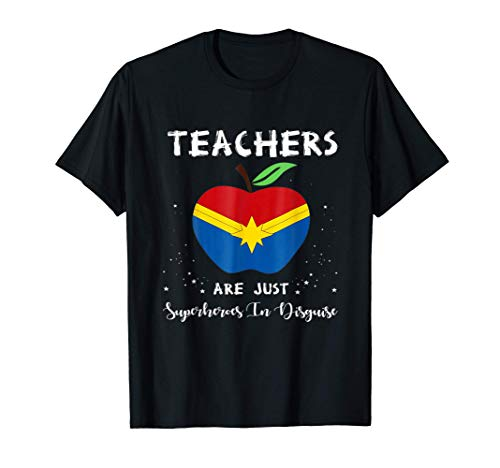 Teachers Are Just Superheroes In Disguise Funny T-Shirt