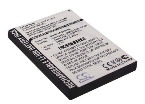 3.7V Battery For Motorola SNN5782, SNN5762, SNN5762A, SNN5782B, BT60, Flipout MB511