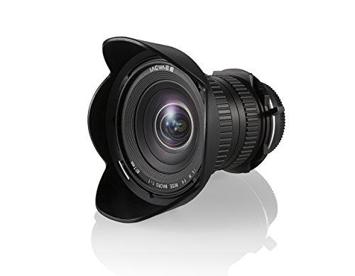 Laowa VE1540N - Objetico de 15 mm para cámara Nikon, f/4, Color Negro
