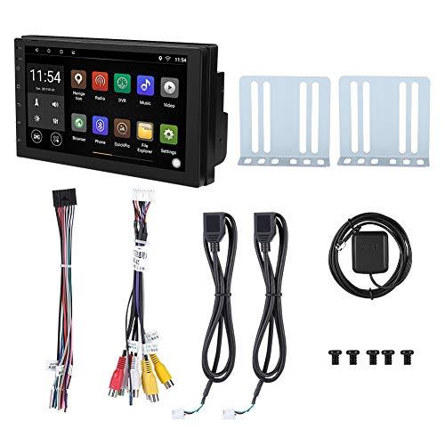 Yosoo Health Gear Car Multimedia WiFi Doppio DIN, 7'WiFi Doppio 2 DIN Autoradio Stereo Multimedia Lettore Bluetooth Antenna GPS 1 + 16G per Android