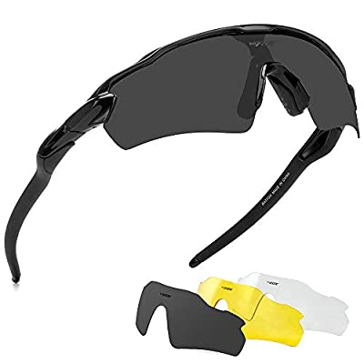 BATFOX Polarized Sports Sunglasses