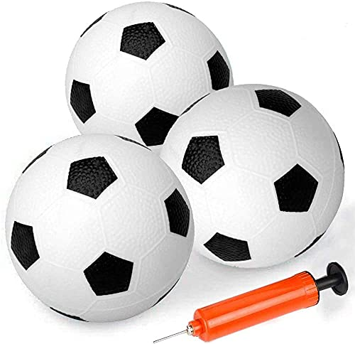 Mini Spielzeug 16 cm große Gummi-Fußbälle, Kickbälle, Sportball, Outdoor-Aktivitäten, Spiel für Kinder, Dodgeballs Spielplatzbälle für Jungen und Mädchen, Strand-Pool-Bälle für Kinder und Erwachsene