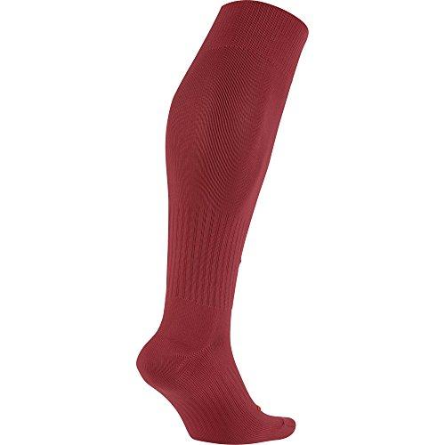 Nike Academy Over-The-Calf Soccer Socks, Varsity Red/White, Medium