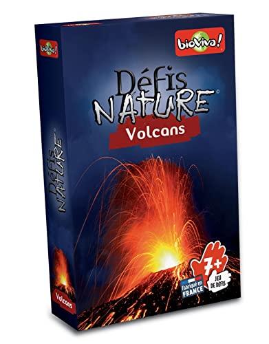 BIOVIVA - Défis Nature - Volcans - Jeu de société ludique dès 7 ans - 282536
