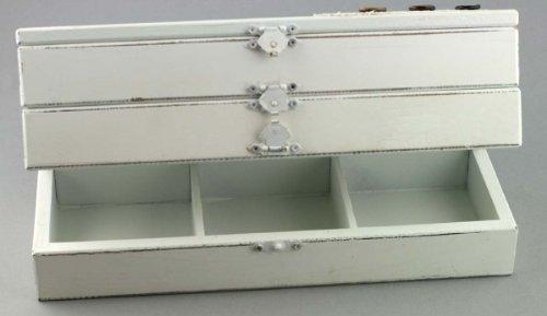 Clayre & Eef 61102 Schmück Aufbewahrdose/Aufbewaht box 27 * 10 * 10 cm